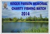 Roger Parson Memorial Charity Fishing Match 2014