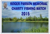 Roger Parson Memorial Charity Fishing Match 2015