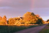 Sunset in Pymoor, June 2015