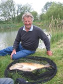 Roger Kent caught this fish at the Oxlode Lakes, Oxlode, 2011