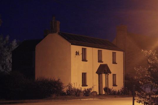 21, Pymoor Lane, Pymoor at night, 2015