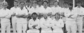 Pymoor CC won the Frank Darby Sunday League Final, 1986