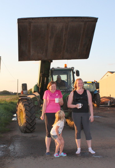 Another Ice Bucket Challenge at Laurel Farm, 2014