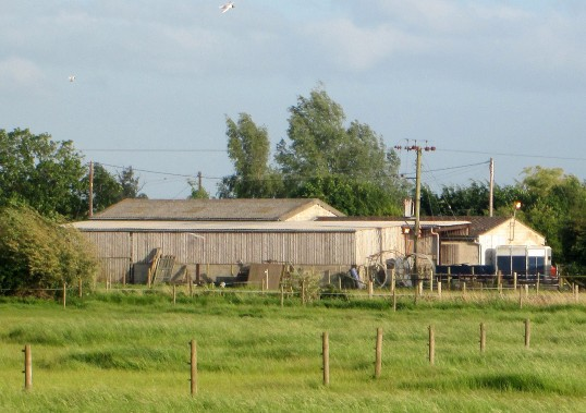 Rosehill Farm, Dunkirk, seen from Pymoor Lane, Pymoor, 2015
