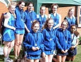 Laura and Bethany Butcher played for the City of Ely Netball Club and came away as under 16 runners up in Cambridgeshire County Junior Netball Tournament, 2015