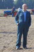 Graham Lark of Pymoor, was a spectator at a Ploughing Match, 2015