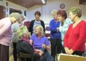 Ladies Night at the Pymoor Cricket and Social Club, May 2015