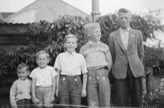 A group of Pymoor children, circa 1957