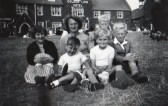 A Family outing for the Barkers & Dewsburys of Pymoor, circa 1952.
