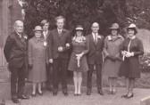 The Wedding of Tony and Sue Rudderham of Pymoor, 1972.