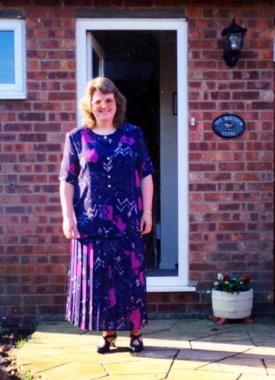 Angela Martin ( nee Kidd ) of Pymoor, circa 1995