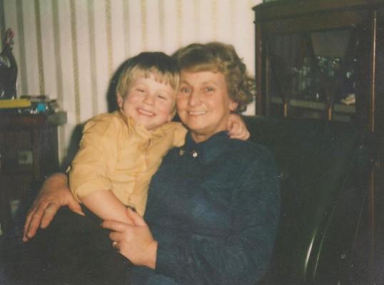 Thomas and Brenda Barker of Pymoor, circa 1980