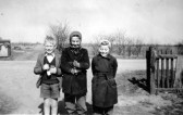 Eric Barker and Linda Porter of Pymoor, circa 1957