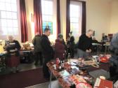 Alan Hall trying his luck on the prize draw at Pymoor Methodist Chapel Christmas Bazaar 2015
