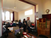 Tea & Cakes at Pymoor Methodist Chapel Christmas Bazaar 2015.