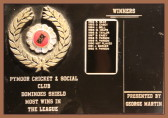 Pymoor Cricket and Social Club Dominoes Shield was last played for in 1992