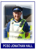 Jonathan Hall is back as our Police Community Support Officer in Pymoor, 2015