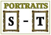 Portraits S - T