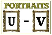 Portraits U - V