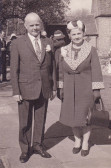 Sid and Nelly Dewsbury of Pymoor, circa 1970