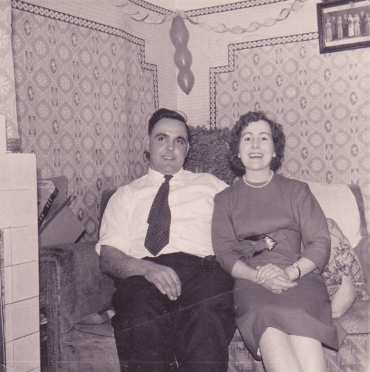 Don and Muriel (Midge) Dewsbury of Pymoor, circa 1958