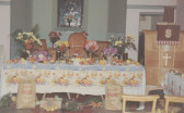 Pymoor Methodist Chapel, Harvest Festival, Oct 1967