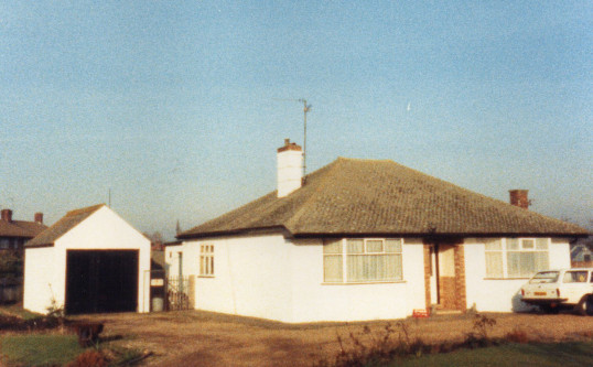 No. 3, Pymoor Lane, Pymoor, 1987.