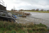 Failure of the Hundred Foot Pumping Engine in Pymoor required emergency measures to prevent flooding, 2012