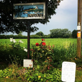 Pymoor Village Sign, 2014