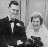 Wedding of Morris Winters of Pymoor to Brenda Peters, 1955