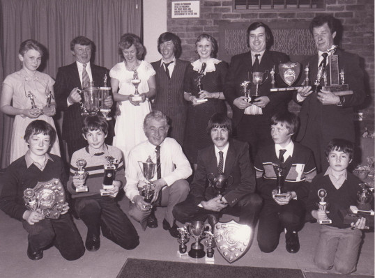 Pymoor Fishing Club Dinner Dance and Presentation Evening, Pymoor, 1982