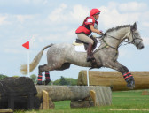 A cross country event at the Ely Eventing Centre, Little Downham, near Pymoor,  July 2016