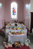 Pymoor Methodist Chapel Harvest Festival, 2015
