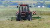 Jamie Butcher working in a field off Pymoor Lane, Pymoor, 2016