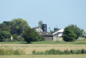 The Old Mill and Granary, in Pymoor Lane, seen from Adventurers Drove, Oxlode, near Pymoor, 2016