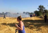 Field fire in Pymoor, 2016