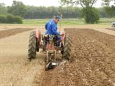 Jon Lark of Pymoor, taking part in a Ploughing Match, 2016
