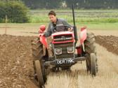 Darren Tebbitt, taking part in a Ploughing Match, 2016