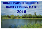 Roger Parson Memorial Charity Fishing Match 2016