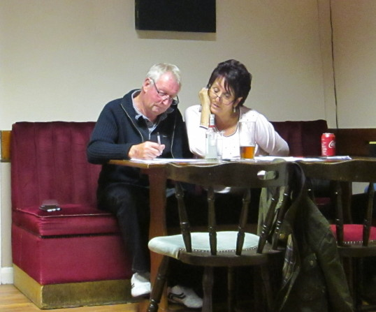 Pymoor Cricket and Social Club Quiz Night, Oct 2016.