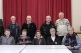 The Pymoor Community Archive Group with their Spouses at their last meeting of the year at the Methodist Chapel in Pymoor, 2016.