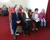 Congregation at the Pymoor Methodist Chapel`s Carol Service, 2016