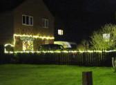 Christmas Lights in Pymoor, 2016