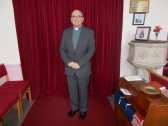 Rev Colin Watkins (Superintendent), Pymoor Methodist Chapel, 2017