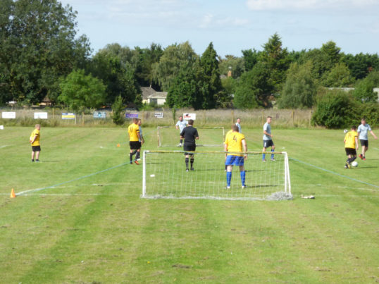 A 5 aside football tournament was held at the Pymoor Cricket Club in memory of Jack Ure, 2017