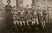 Ramsey St Mary's Football Team 1949-1950