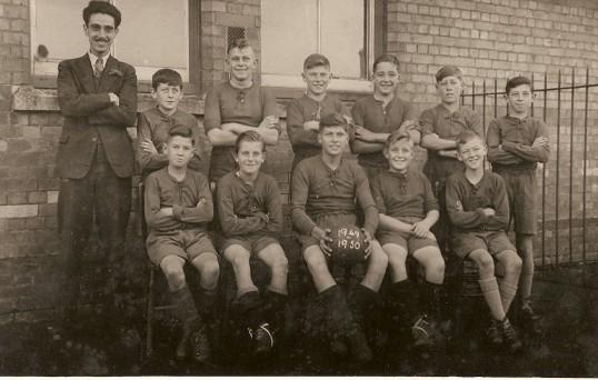 Ramsey St Mary's Football Team 1949-1950