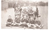 Ramsey Council School 'Red Rovers' football team.