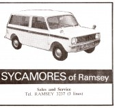 Advertisment for 'Sycamores of Ramsey,  Whytefield Road, Ramsey