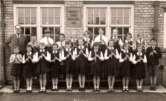 Recorder Group, Ramsey County Primary School.